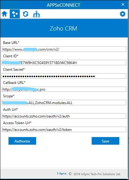 ZohoCRM V2 0 - APPSeCONNECT Product Docs